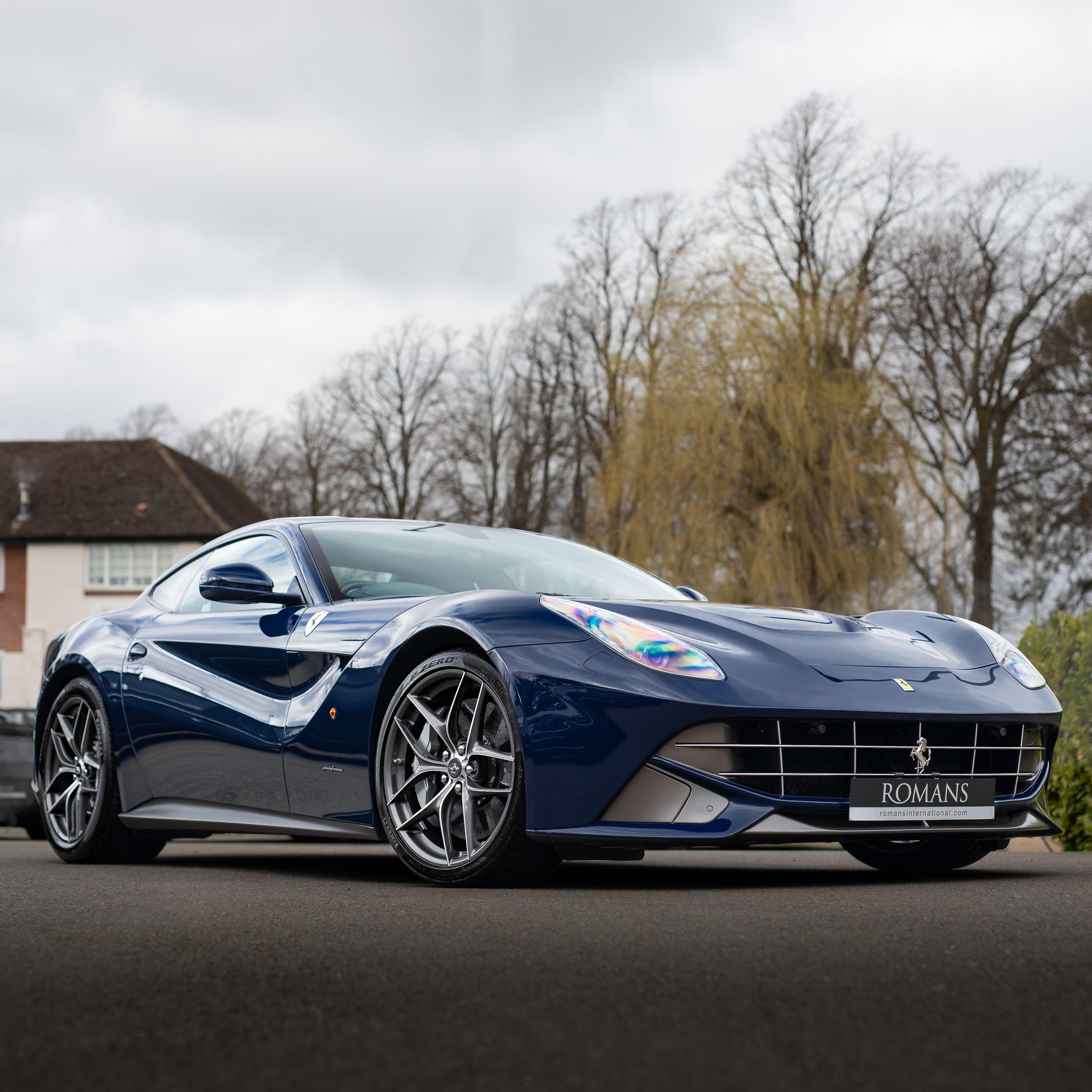 Blu Scozia Ferrari F12 Berlinetta In 2020 Ferrari Ferrari F12 Sports Car Brands