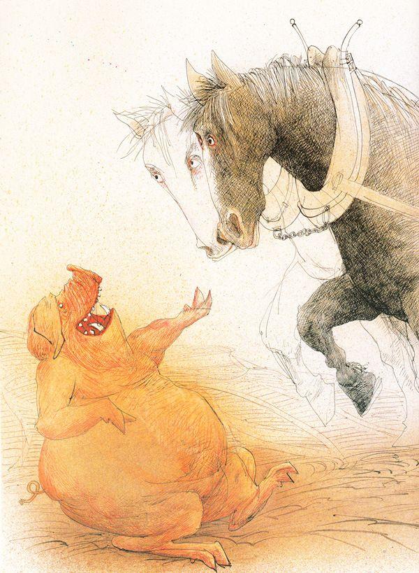 George Orwell S Animal Farm Illustrated By Ralph Steadman Ralph Steadman Ralph Steadman Art Animal Farm George Orwell
