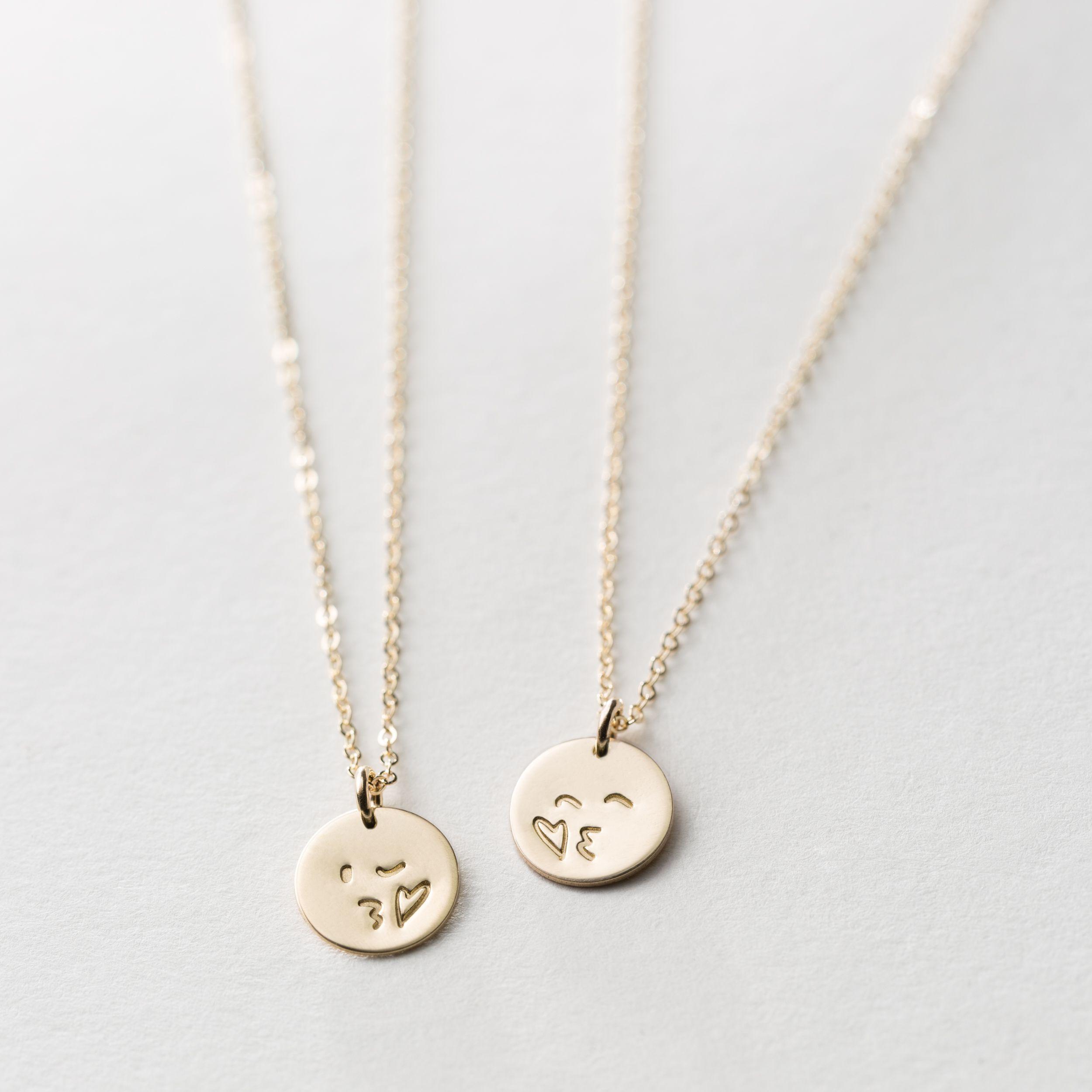 bcffb7647f7562 Kissy Face Friendship Set | Gifts | Silver charm bracelet, Sterling ...