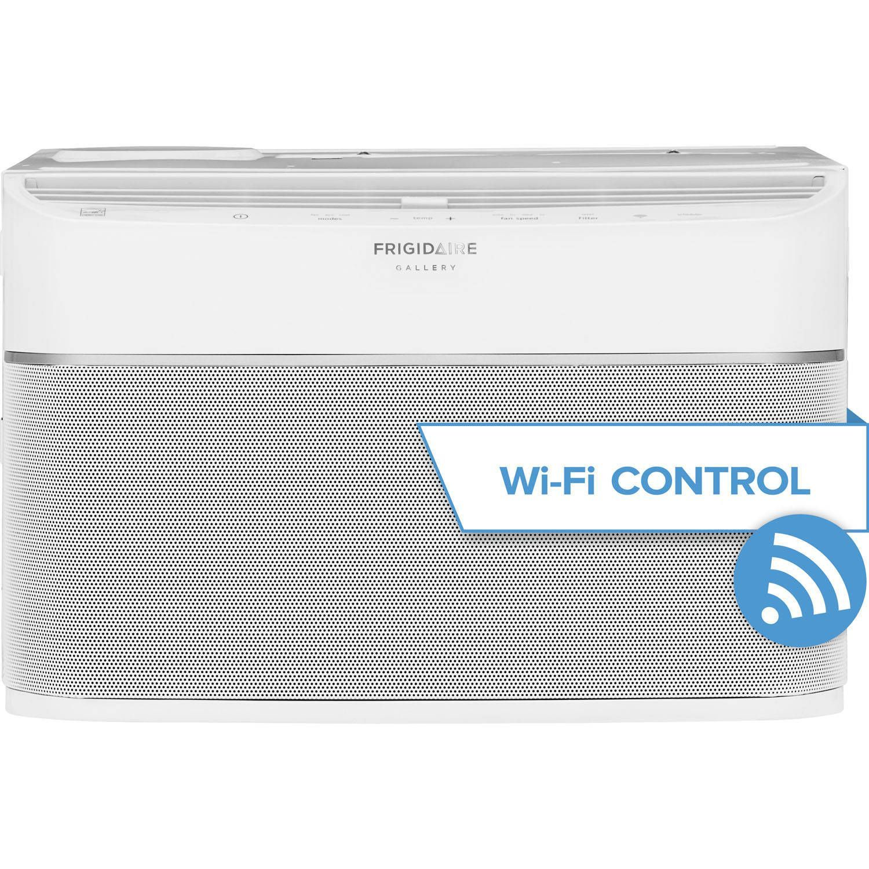 Frigidaire Gallery Fgrc0844s1 8 000 Btu Cool Connect Smart Room Ac W Wifi Control White Window Air Conditioner Window Ac Unit Energy Star