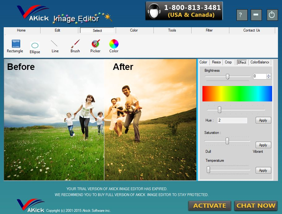 Akick #Image editor provide you the best facility where you can create,  #edit