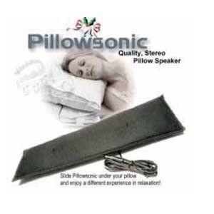 Pillowsonic Stereo Pillow Speaker $17