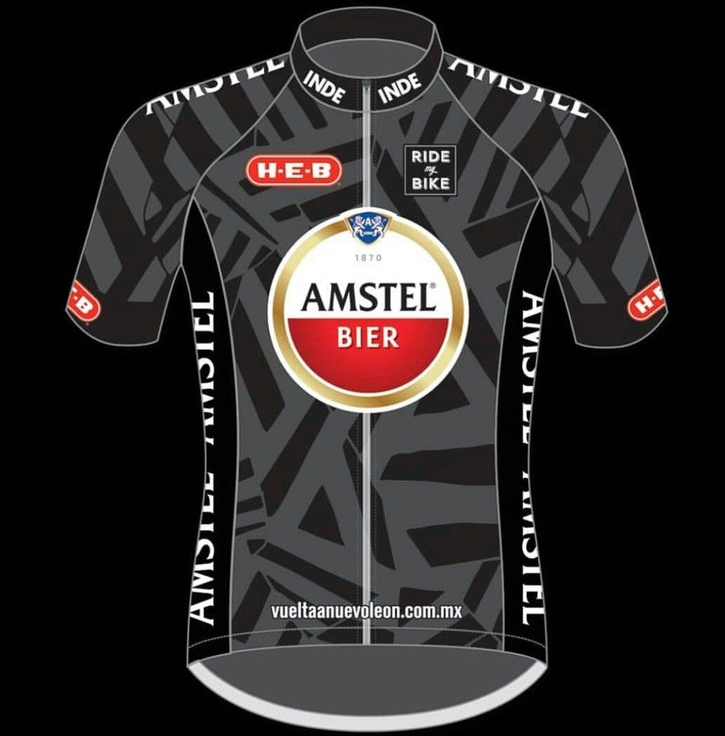 The JerseyVuelta Bier Jerseys Amstel LeónCycling Nuevo 0vnmO8wN