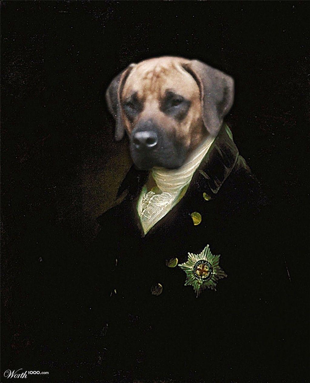 Dog Ren Animals, Renaissance,