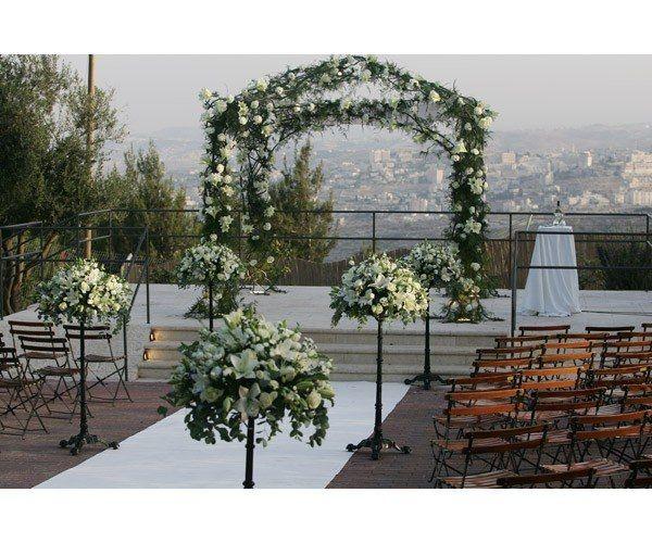 View Wedding Decor: Ramat Rachel A Wedding Venue In A Kibbutz With A View Of