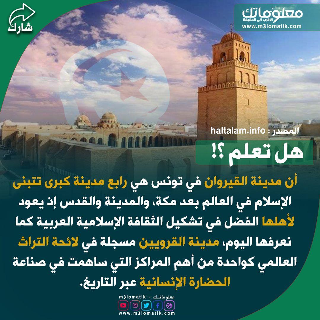 تونس مدينة القيروان Histoire