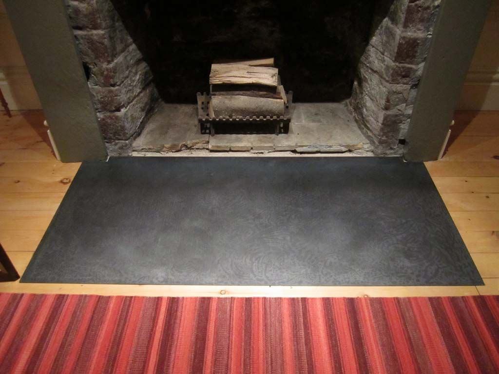 Concrete Hearth Flush To Floor 19 Vinal Ave Hearth Fireplace