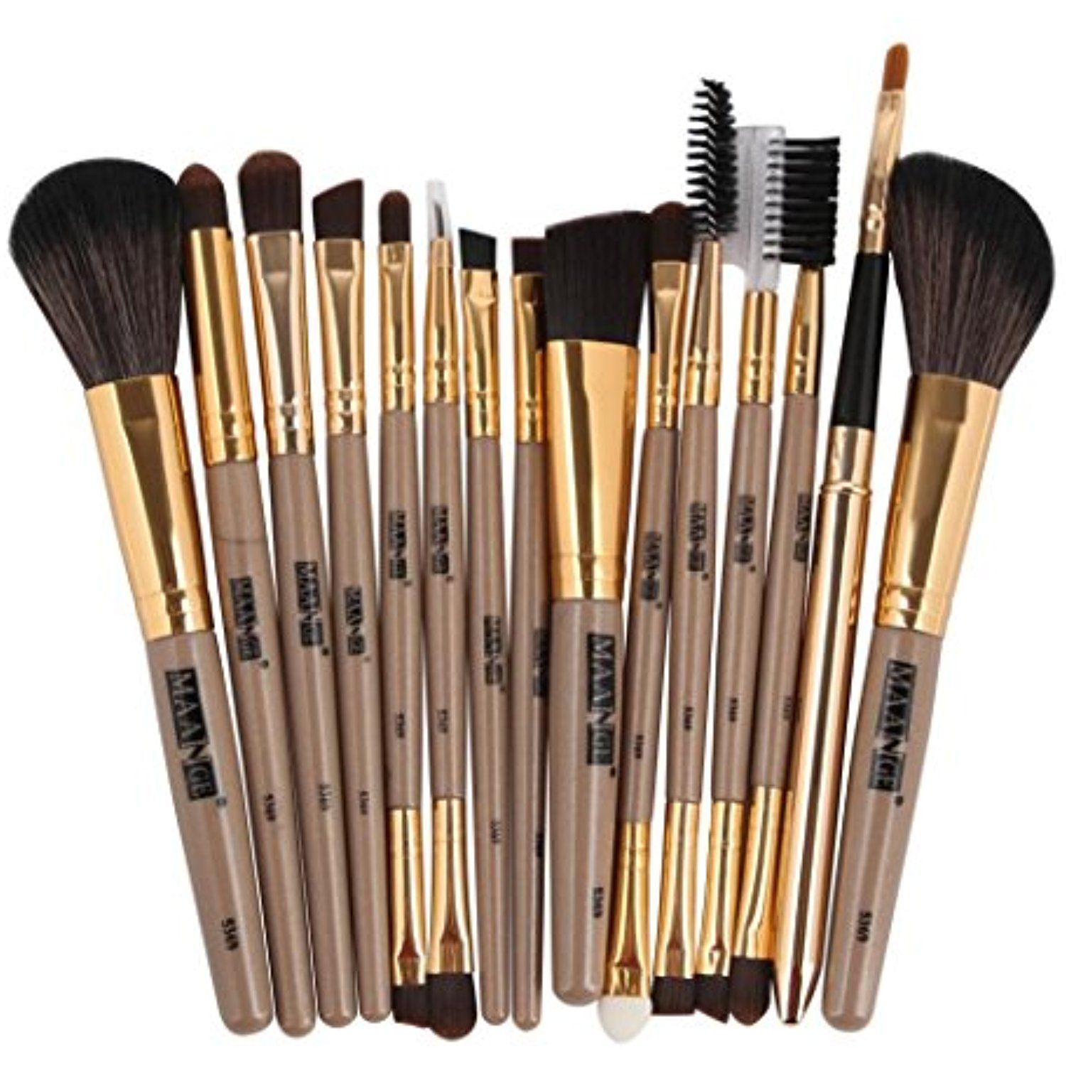 15pcs Makeup Brushes Set MAANGE Foundation