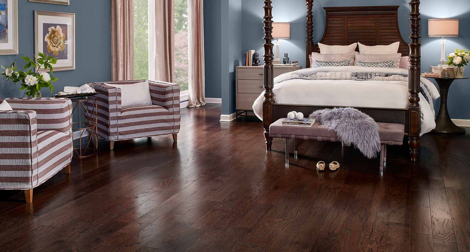 chocolate oak hardwood floors pergo inspiration project source 805in w x 396ft l natural oak smooth wood plank