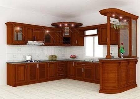 Resultado de imagen para cocinas integrales de madera for Gabinetes cocina integral