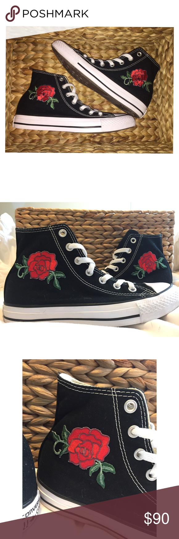Can you put iron on patches on to converse?