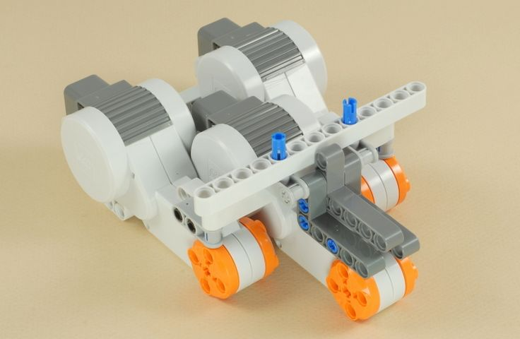 NXT 3-Motor Chassis   First Lego League   Pinterest