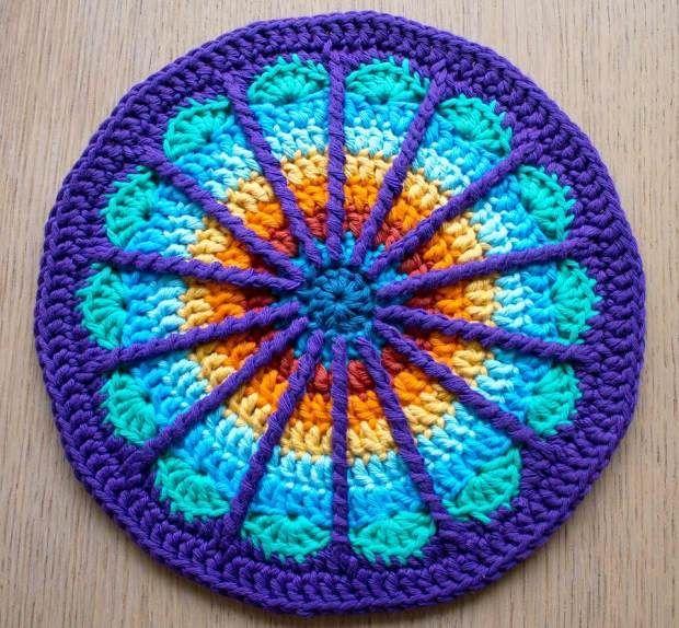 mandala+crochet | crochet mandala | Crochet | mandalas | Pinterest ...