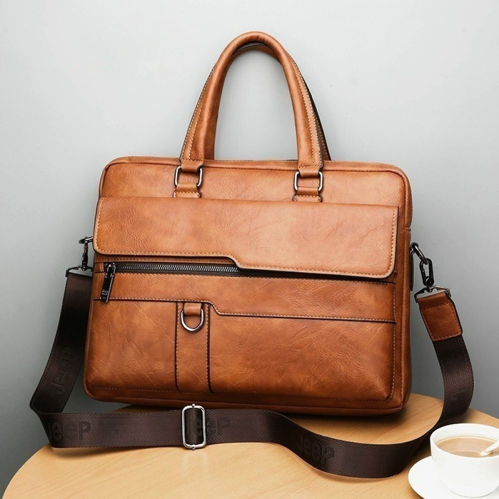 New Men Business Handbag Briefcase Shoulder Messenger Laptop Satchel Bag