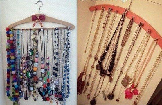 trucs et astuces pour ranger ses bijoux organisation rangement pinterest ranger. Black Bedroom Furniture Sets. Home Design Ideas