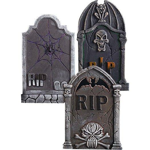 Pierre tombale polystyr ne halloween pinterest polystyr ne pierre et halloween - Pierre tombale halloween ...