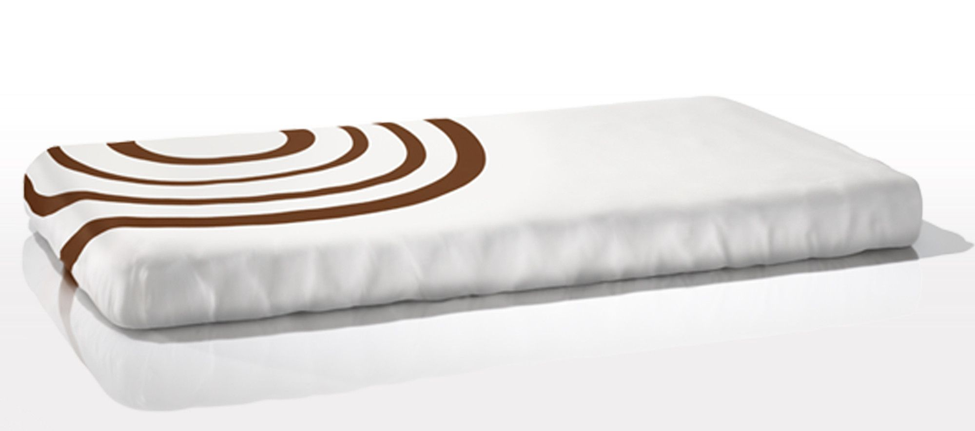 Organic Fitted Ripple Crib Sheet Nook Sleep Systems Organic