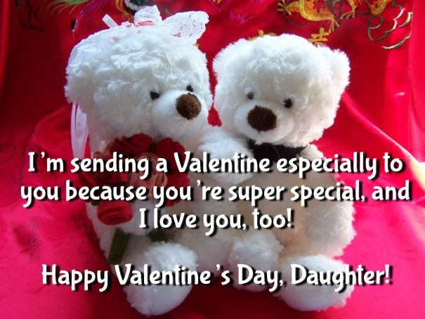 valentines day quotes for mom from daughter - Valentines Day Daughter