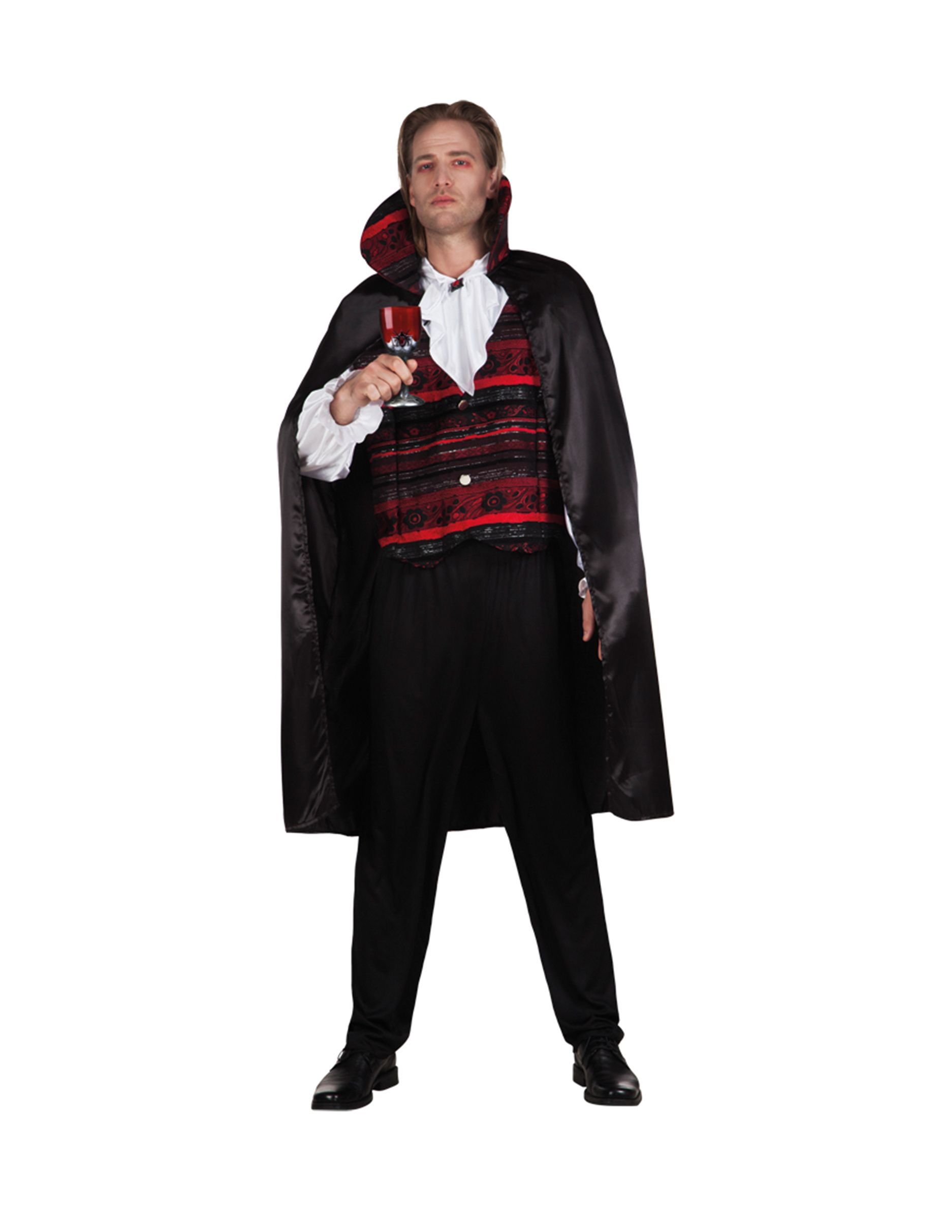 Disfraz de emperador vampiro hombre Halloween