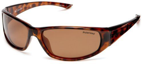 e210775ef25c Columbia Borrego Sport Sunglasses,Tortoise Frame/Brown Lens,one size  Columbia. $59.95