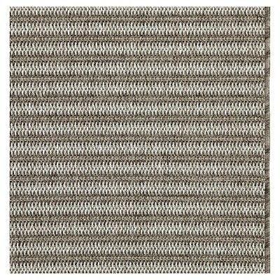 Best Runner Outdoor Rug Coffee Stripe Smith Hawken Gray 400 x 300