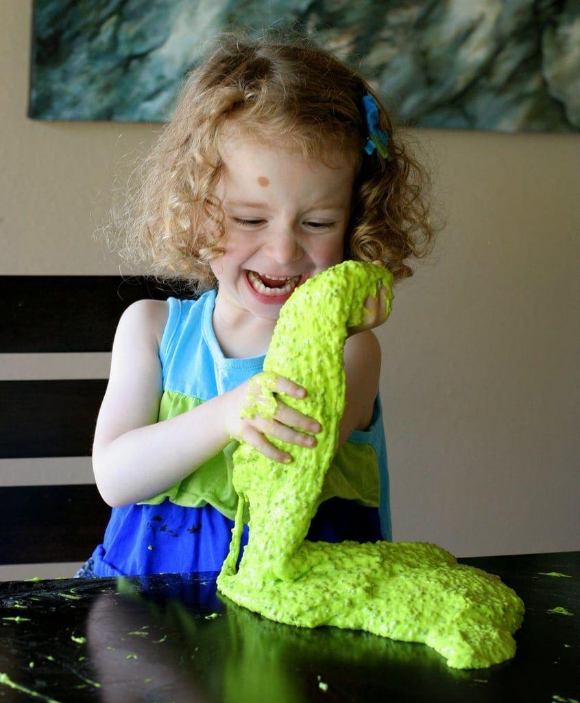 Neon Green Edible Slime #edibleslime Neon Green Edible Slime #edibleslime