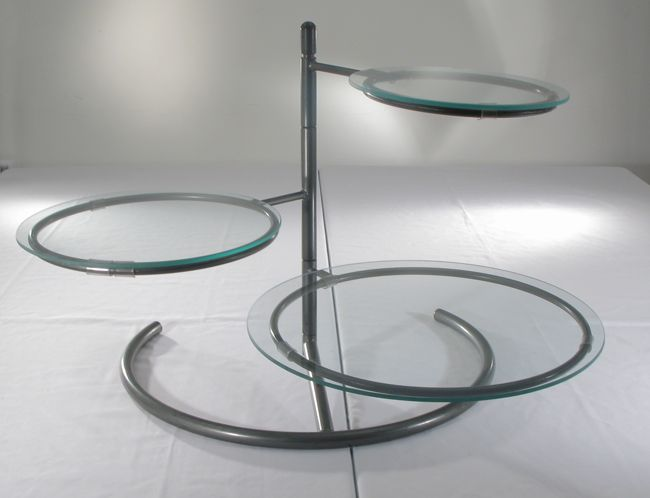 3 Tier Swivel Stand with Glass Trays & Google Image Result for http://www.townandcountryeventrentals.com ...