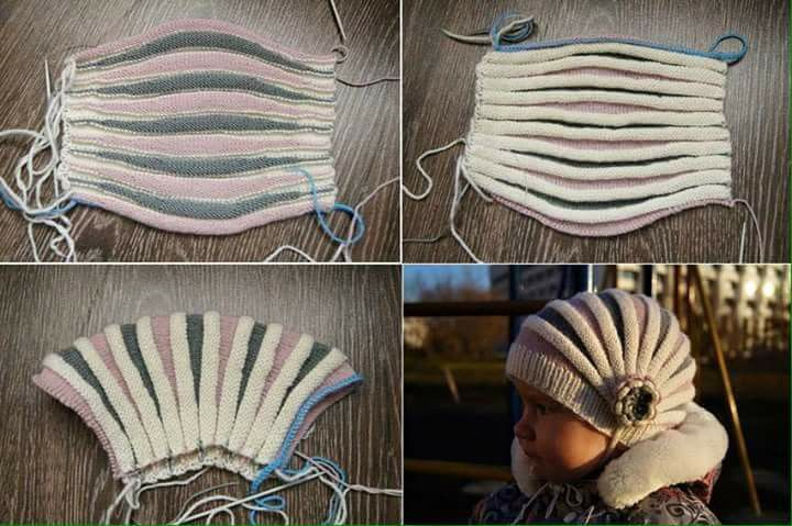 Cuffia | Cappelli a maglia, Lavori a maglia, Uncinetto
