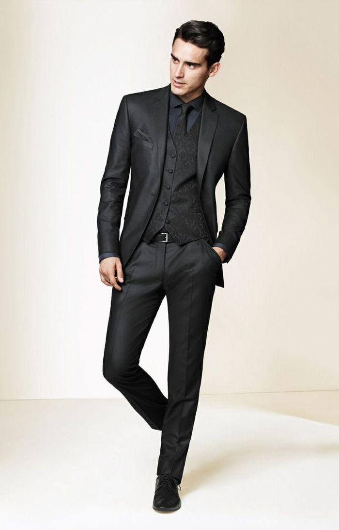 le costume gris anthracite homme en 40 photos costard costume gris et gris. Black Bedroom Furniture Sets. Home Design Ideas
