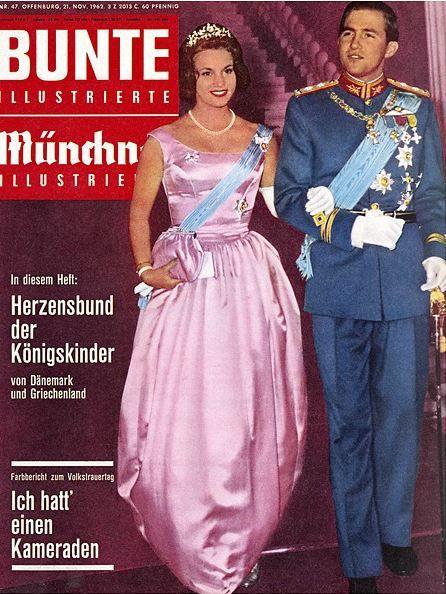 1962 Konstantin Von Griechenland Und Anne Marie Von Danemark Basileia Xristianoi Ellada