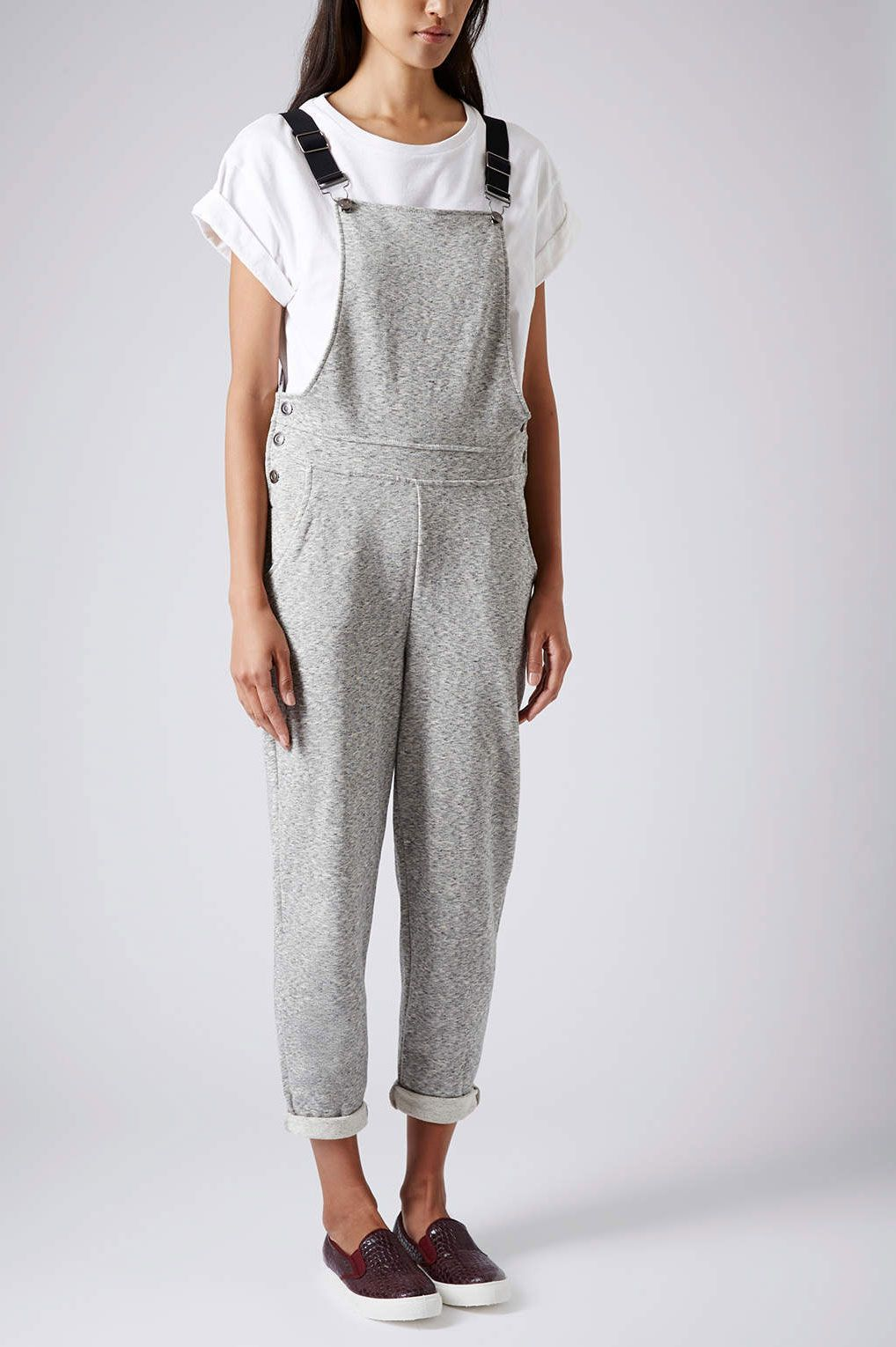 6cb46572e910 Sweatpants Overalls  Why didn t anyone tell me about these before  This is  a perfect item for