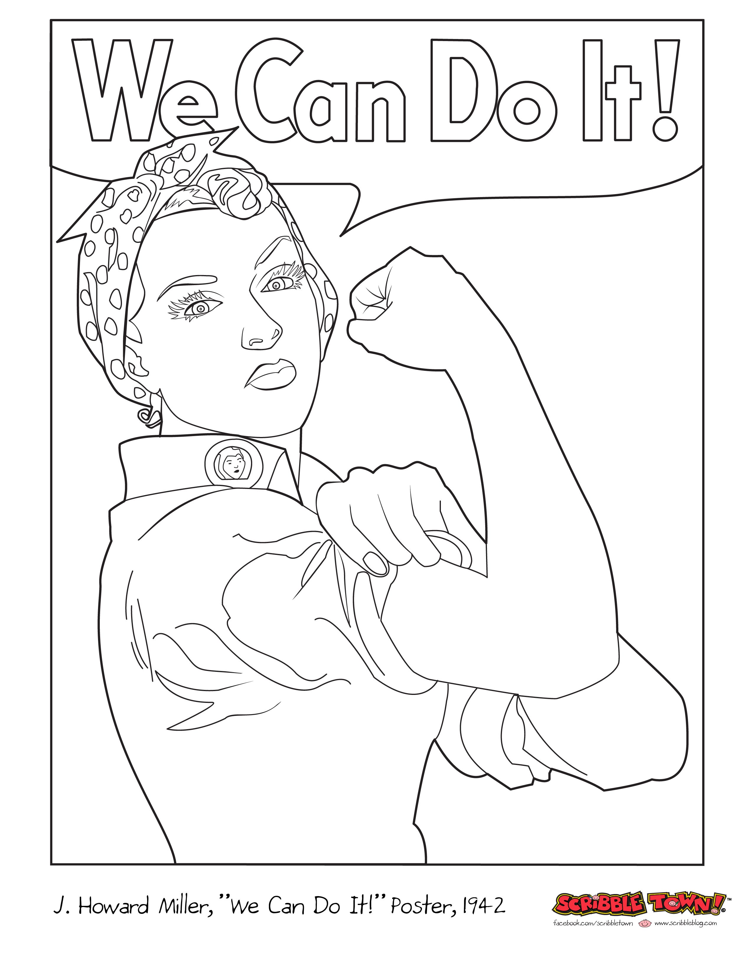 Women S Equality Day Coloring Sheets