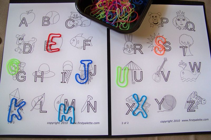 matching alphabet band bracelets