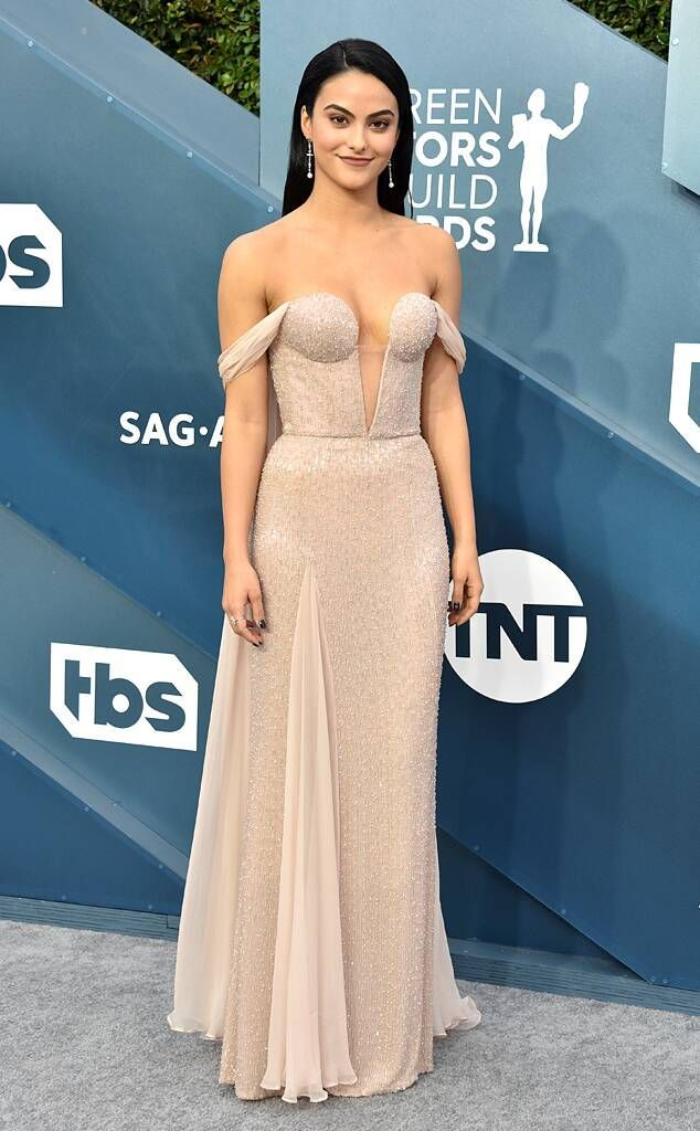 Camila Mendes from SAG Awards 2020 Red Carpet Fashion -   - #Awards #Camila #Carpet #Fashion #Mendes #MiraDuma #MiroslavaDuma #Red #RedCarpetDresses #RedCarpetLooks #SAG