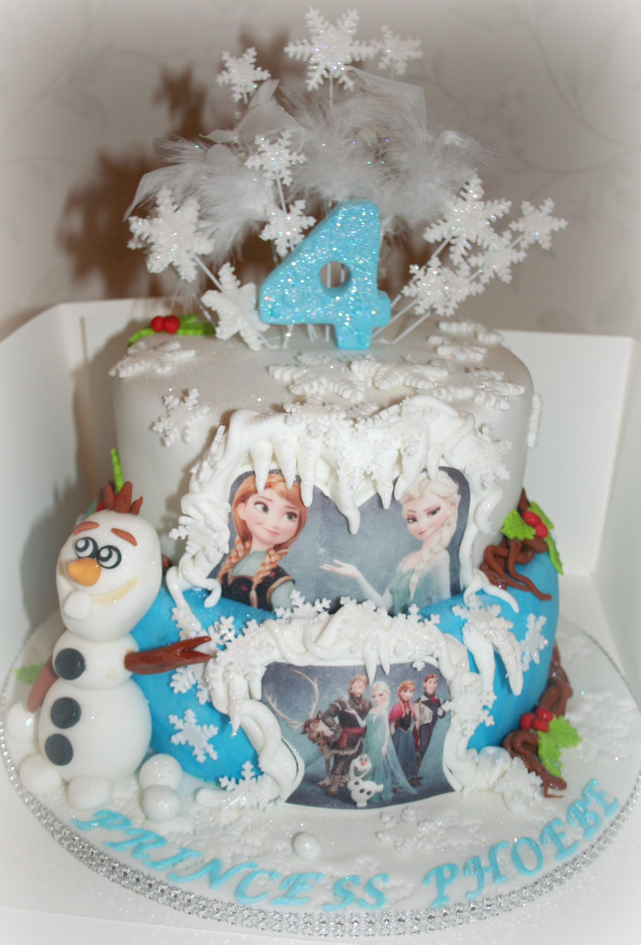 Disney Frozen Cake Birthday 5th Ideas