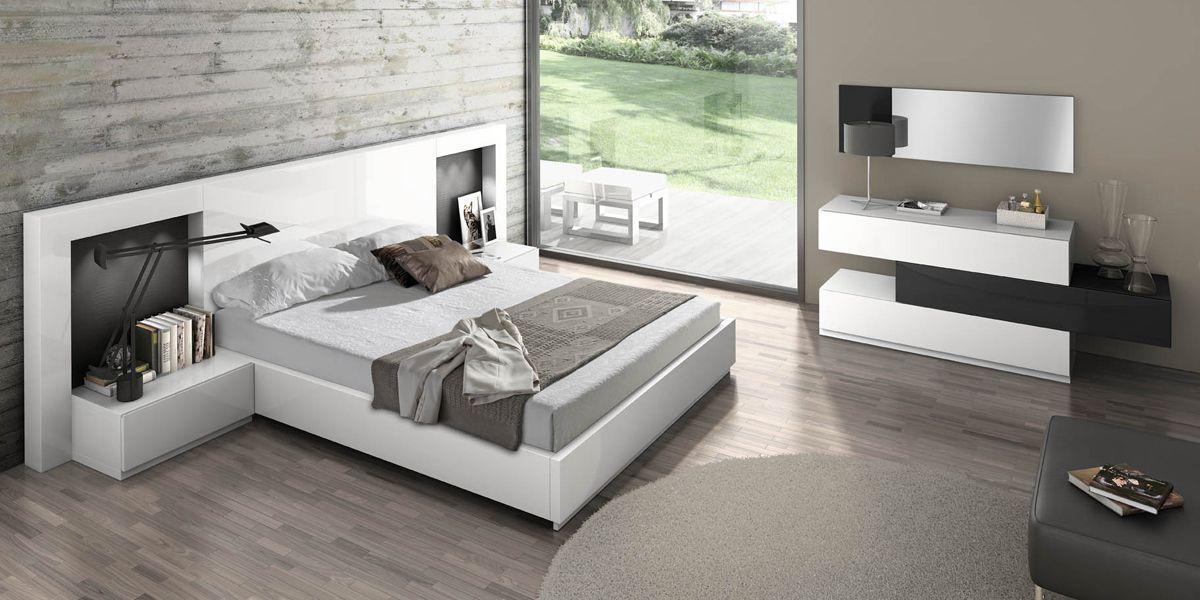 Dormitorio 1 dormitorio modular de 310 cm de ancho - Dormitorios matrimoniales modernos decoracion ...