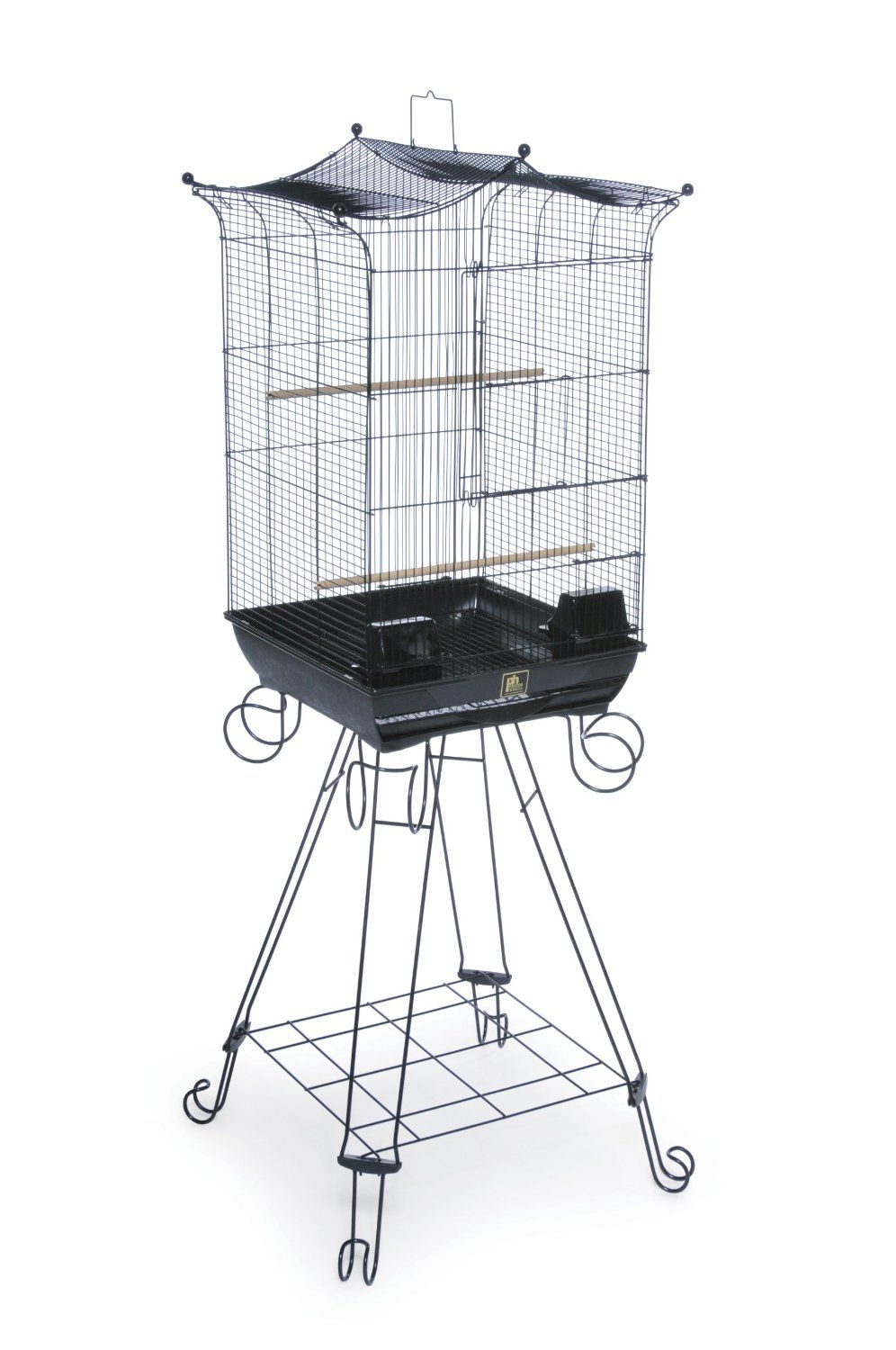 $57.13. The Bird Penthouse Suites Round Roof Aviary with Stand is a ...