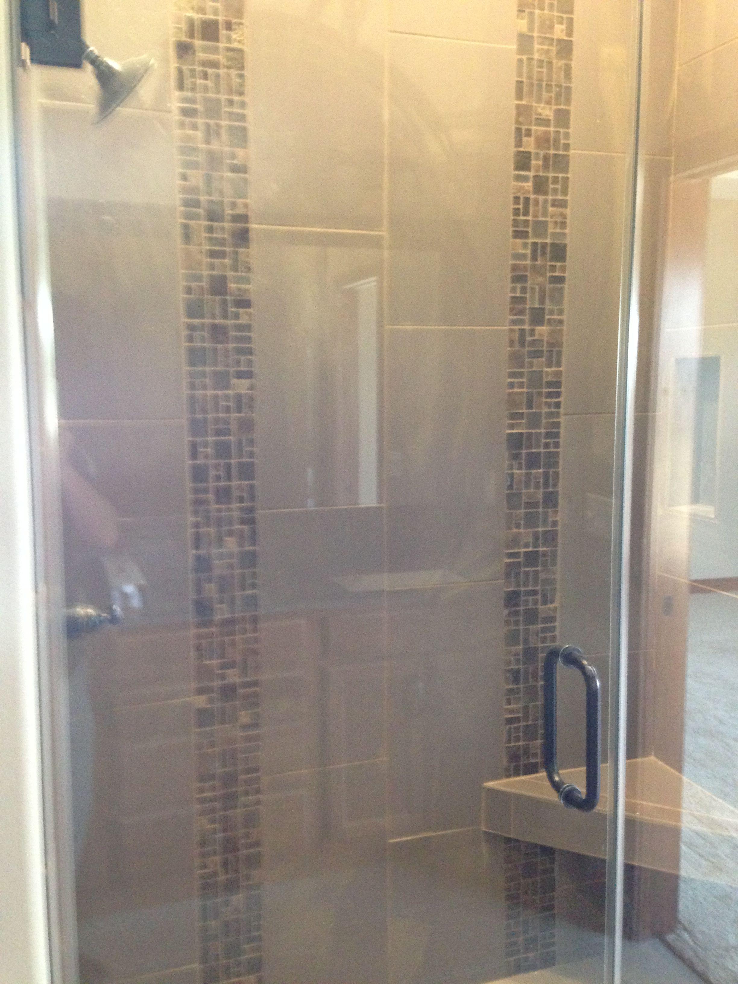 natural project blue tile coastal design stone gallery bathroom glass