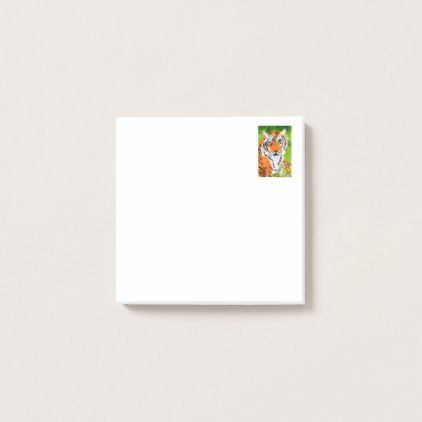 post business office. #Soulful Tiger Small Post-it Notes - #office #gifts #giftideas #business | Office Gifts Pinterest Post Business I