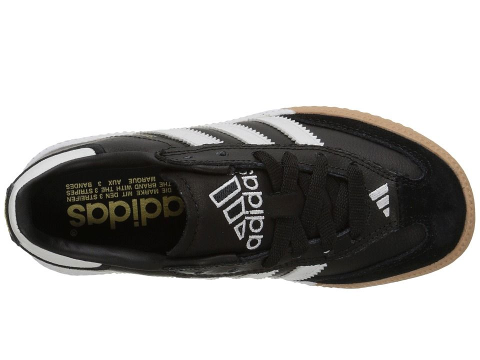 the best attitude 1d549 196ef adidas Kids Samba(r) Millennium Core (Little Kid Big Kid) Kids Shoes Black Running  White