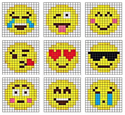 Hama Bugelperlen Perler Beads Emojis Basteln Bugelperlen Geschmolzene Perlen Hama Perlen Muster