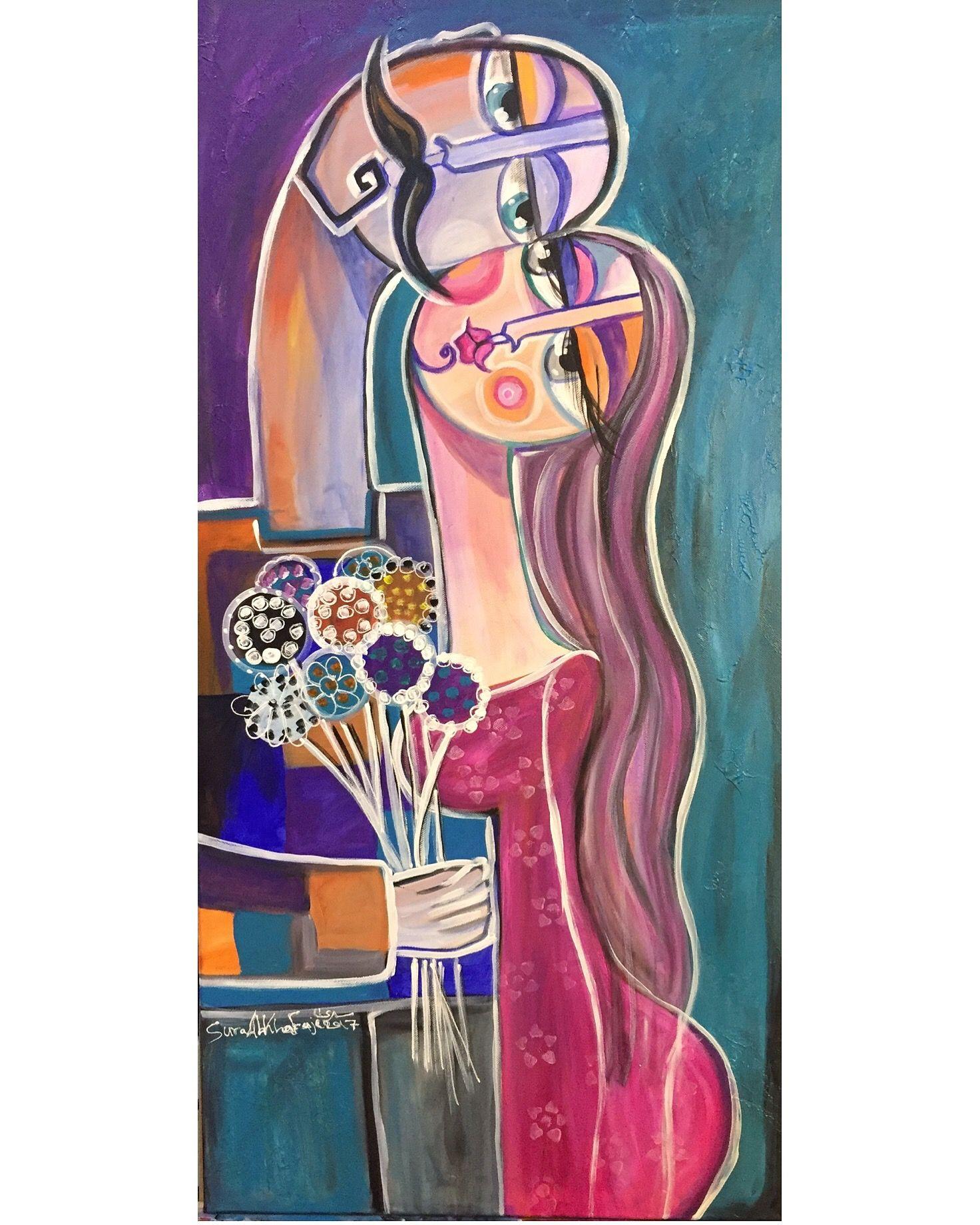 Desertrose اللقاء The Meeting Diy Art Painting Art Painting Art