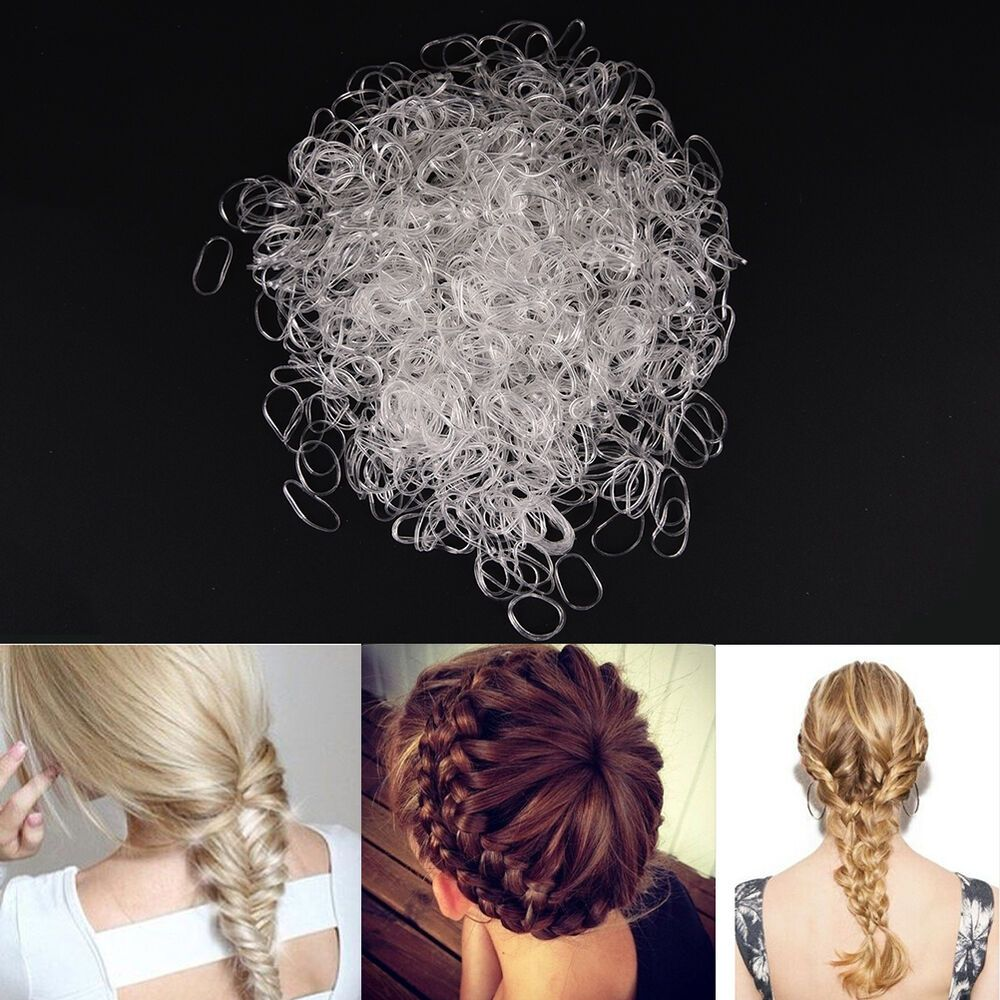 Trendy Rubber Bands Kids Elastic Hair Band Tie Rope Braid Hair Style SP