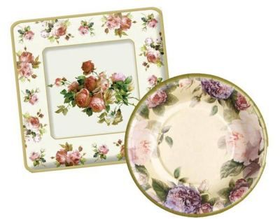 \ Chintzy China\  Paper Plates Romanticized florals are worthy of fine china. 8 plastic  sc 1 st  Pinterest & Chintzy China\