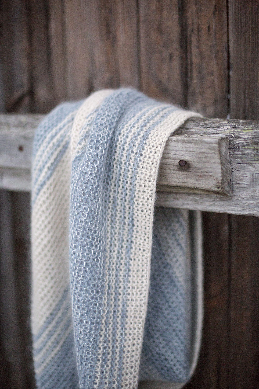 Solace pattern by Janina Kallio | Shawl knitting patterns ...