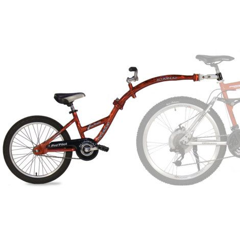 Find The Pro Pilot Kids 39 Tandem Bike Trailer At Mills Fleet Farm Mills Has Low Prices And A Great Selectio Tandem Bike Trailer Tandem Bike Bicycle Trailer