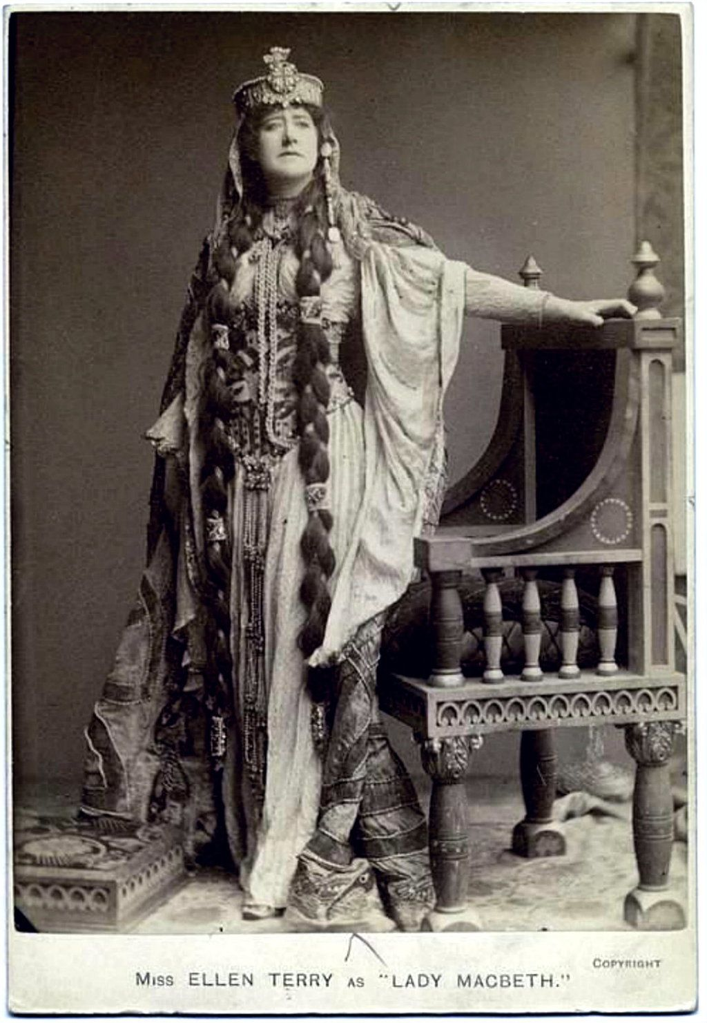 Art Nouveau Costume Ellen Terry As Lady Macbeth Costumes On Stage In 2019