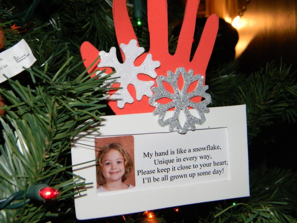 Cute snowflake poem card?