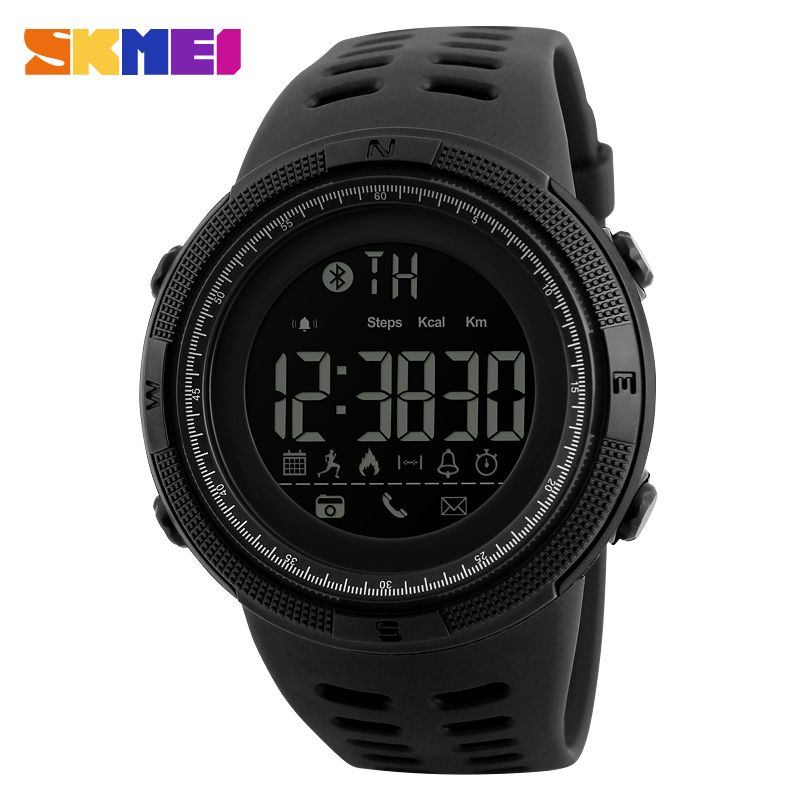 SKMEI Remote Camera Smart Watch Pedometer APP Call Remind