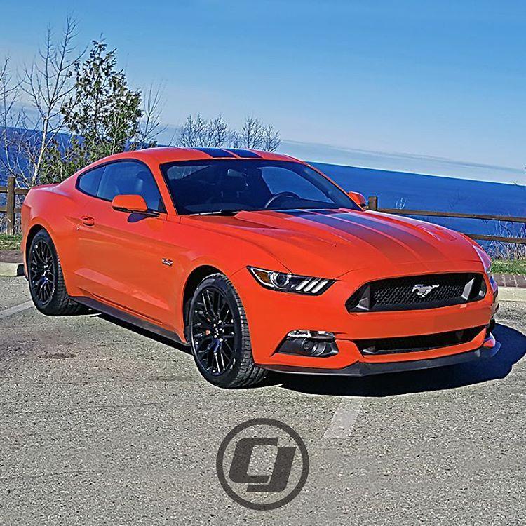 Doug's Brand New 2016 Competition Orange #Mustang Premium
